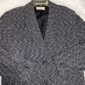 Vintage 1980's Women's Wool Blazer, Size 18